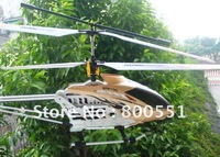 extra large 3ch RC helicopter w/gyro and lights, alloy structure, super Christmas gift! WM-F3D196, best quality! crash resistant