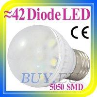 10 pcs Free Shipping!! 2W E27/E26 White 7 SMD 5050 LED Light Bulb Lamp 110-240V #10 x DQ0217