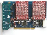 TDM800P 8 Ports 8 FXO asterisk card for voip ippbx ip pbx