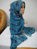 high quality printed agaric silk rectangular scarf,muslim pashmina,islamic head scarf,muslim scarves,muslim hijab 12022308
