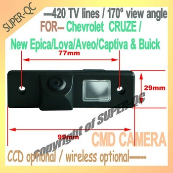 Car rear view camera special for Chevrolet CRUZE-CAPTIVA-EPICA-LOVA-AVEO