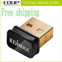 NEW Free Shipping Mini Tiny EDIMAX EW-7811Un 150Mbps Wireless 802.11n nano USB Adapter Network Card