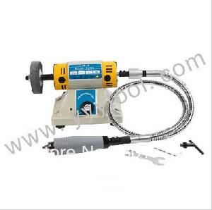 NEW Super Power Mini Bench Grinder Polishing Machine grinding motor Jewelry findings(China (Mainland))