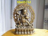 Tibetan MANJUSHRI Buddha Bronze buddha statue 23 cm 1.3 KG  free shipping