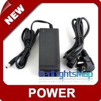 Free Shipping 12V 3A power supply AC adaptor for RGB LED Strip EU US UK plug [ LedLightsMap ]