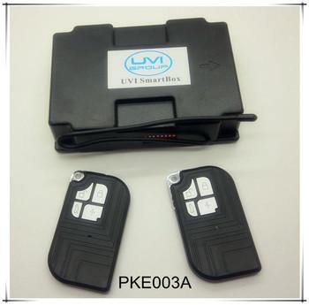 DHL Free Shipping UVI PKE-003A&B Auto Unlock GSM car security pke passive keyless entry car alarm system car alarm remote case