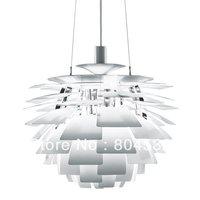 White 60CM Poul Henningsen PH Artichoke Ceiling Light Pendant Lamp+free shipping