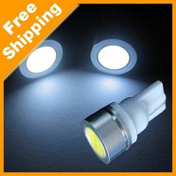 20Pcs T10 1W 194 168 SMD high power Car LED light Bulbs white #970