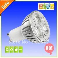 Free Shipping 10PCS/Lot 3W AC90-265V  GU10 LED Light