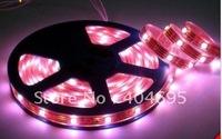 Free shipping 10M Full COLOER RGB 5050 30leds/ M flexible waterproof LED strip/RGB flexible led strips + 2pcs remote controller