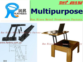 Furniture hardware metal table mechanism B09