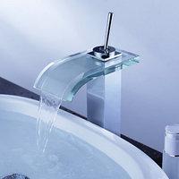 waterfall basin faucet chrome finish bathroom tap mixerN89