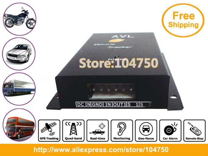 DHL free shipping! 2pcs/lot, New year promotion! Vehicle gps Tracker with Engine-stop Function VT300(China (Mainland))