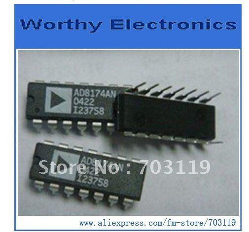 10PCS/LOT AD8174AN AD8174A AD8174 14-DIP AD IC(China (Mainland))