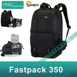 Lowepro Fastpack 350 Photo Camera Photo Bag Backpack- Black %New with tag,welcome wholesale and dropshipping(China (Mainland))