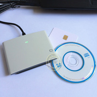USB Contact Smart Memory IC/SIM Card Reader Writer Programmer  ACR38U_SPC R4 +2 PCS FM4442 Chip Cards+Software Development Kit