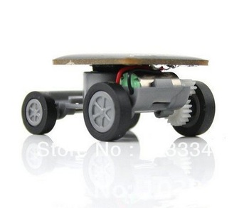Brand New Mini Cute Kid Solar Toy Car Free Delicate Smart Design Free Shipping