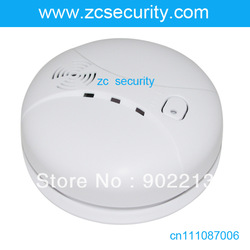 free shpping 2pcs/lot wireless smoke sensor fire alarm home Alarm Accessories(China (Mainland))