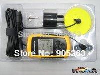 1pcs /lot Portable Sonar LCD Fish Finder Alarm 100M AP  ice