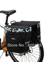 Rowheel bag 37L Bicycle Bag Bike rear seat bag Cycling pannier Sport Bicycle Accessories Free Shipping