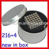 FREE SHIPPING!  100 SETS 5mm Nickel Neocube , magnet balls, neo cube , magnetic sphere balls with boxes / SGS certificated
