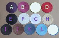 "4.3""(11cm) PP Circle Fascinator Base Table Mats Pads 30pcs/lot PP Circle Fascinator Base Table Mats Pads 30pcs/lot"
