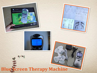 110-220V Lcd Blue screenTens/Acupuncture/Digital Therapy Machine Massager electronic pulse massager health care equipment