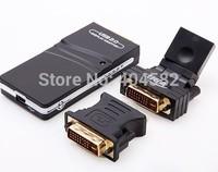 High quality External video card 2.0 USB To VGA/DVI/HDMI Multi-Display Adapter Converter usb graphics card FREE SHIPPING