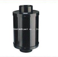 23024 activated  carbon air filter nd  with76mm neck 3''  high flow filters for car  mororcycle universal  air filter regulater