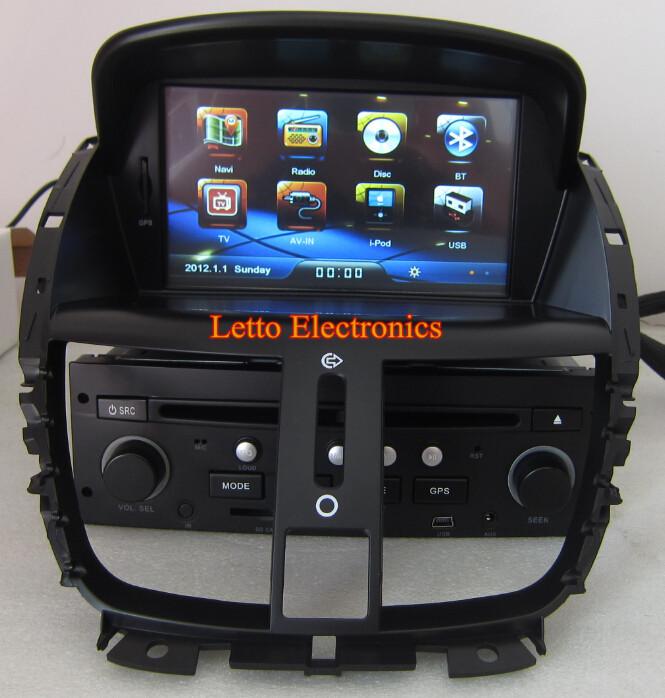 Peugeot 207 Voiture St 233 R 233 O Avec Gps Tv Bluetooth Ipod