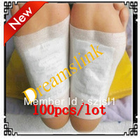 100 pcs/lot New Detox Foot Pad Patch & Adhesive Sheets Foot care patch( 2 pcs in one opp bag )free shipping and hot sale