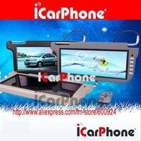 2 pcs of 12.3 inch Car SUN VISOR MONITOR TFT LCD screen CAR VIDEO Auto LCD monitor