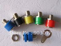 Banana Jack For 4mm Banana Plug 5 Colors Red Black Yellow Green Blue 20 Pcs Per Lot  HOT Sale