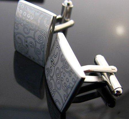 Egypt Pattern Laser Engraving Cufflinks Men's Shirt Cuff Jewelry Gift(China (Mainland))