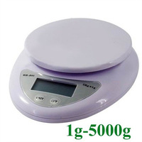 Free shipping New 5kg 5000g 1g Digital Kitchen Food Diet Postal Scale #8100