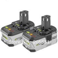 FREE SHIPPING!! 2 PACKS GENUINE Ryobi P104 One+ 18V 130429001 Li-Ion Battery
