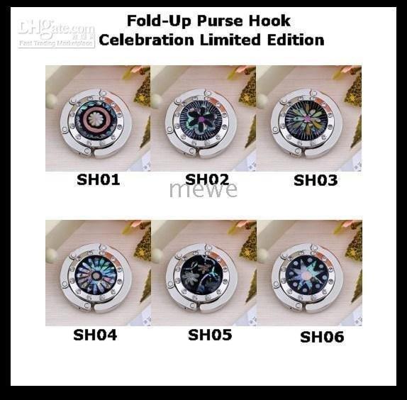 Celebration Limited Edition Fold-Up Handbag Hook Hanger Holder,Bag Hanger Hook Purse Hooks Hangers(China (Mainland))