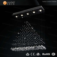 Contemporary crystal ceiling lighting OM756 L80 W20cm on promotion 10%off
