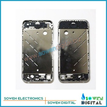 for iphone 4 4g  middle plate board silvery original free shipping+good quality wholesaler or retail