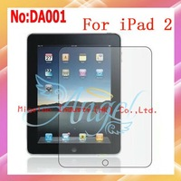 10pcs/lot Anti Scratch Clear Screen Protector For iPad 2/1 With Retail Package+Free shipping #DA001