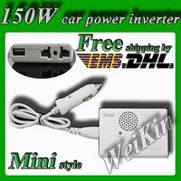 Meind wholesale+Slim model 150W Car POWER INVERTER converter 12V DC to 220V AC with USB 5V dc ac power inverter 150W