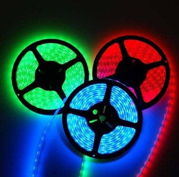 BIG DISCOUNT Free Shipping Non-Waterproof RGB SMD5050 60Leds/m LED Flexible Strip+IR Remote