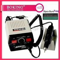 204+102L Mini Micromotor + (Free) 1 box Diamond Burs Set , jewelry mini polishing machine , jewelry tools,   0-35000RPM