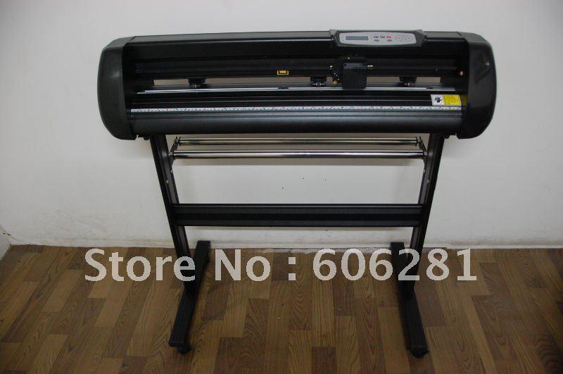 Li jie one year warranty high precision good after sales serivce43'plotter cutting plotter vinyl cutters free ship HJ1100X(China (Mainland))