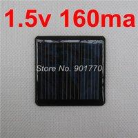 1.5V 160mA 0.24w mini solar panel solar power led AA battery free shipping  small solar panels