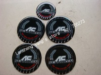 Free shipping 62MM + 45MM AC Wheel Center caps SCHNITZER car badge car Emblem stick 45MM SCHNITZER Steering wheel(1set=5pcs)