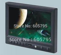8inch widescreen car VGA LCD monitor w/ HDMI AV inputs,819AH,free shipping!!!