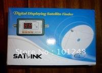 100pcs/lot SATLINK WS-6903  ws6903  Digital Displaying satellite finder meter , Much better than old style analog meters