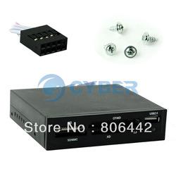 USB 2.0 3.5&quot; All in 1 Internal Flash Memory Card Reader with USB Port Retail &amp; Wholesale Free Shipping(China (Mainland))