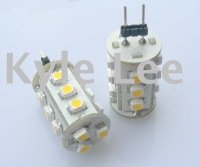 100 pcs/Lot of Auto G4 LED Lamp(G4-15SMD 3528 1chip LED) 12VDC
